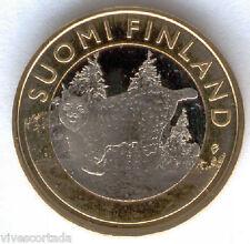 5 Euros Finlandia 2015 Lince @@ NOVEDAD @@ Bimetalica @@ Nº 33 @@