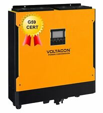 5.5kw Hybrid Solar Inverter charger on grid and off grid 48VDC 2x MPPT 500VDC