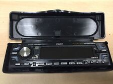 NEW Clarion CD Player Face plate DCP-433 For DXZ535 With Carrying Case