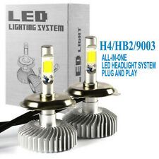 H4 HB2 9003 200W 20000lm LED Headlights Bulbs Hi-Lo Beam 6000K Vehicle Lamp Kit