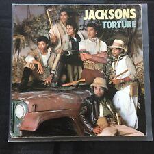 Jacksons - Torture - Holland PS Epic EPCA4675 Vinyl 45 - EX