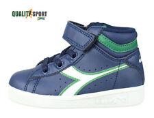 Diadora Game P High Bianco Bambino Infant Scarpe Sportive Sneakers C5901