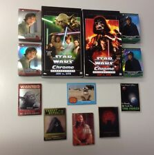 2015 STAR WARS CHROME PERSPECTIVES COMPLETE SET ALL INSERTS (258) CARDS W/ BOXES
