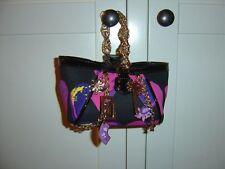 Versace for H&M kleine süße Tasche Designer Bag Lackleder Seide silk Herz *NEU*