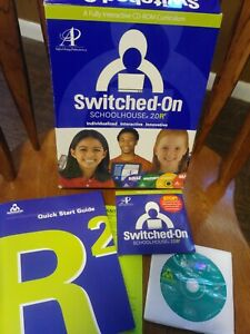 Switched on Schoolhouse SOS Spanish (Levels I & II available) 2005 Version - NEW