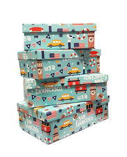 San Francisco Paper Box Set With 4 Boxes New