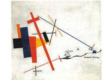 Kunstpostkarte  - Kasimir Malewitsch: Suprematistische Komposition