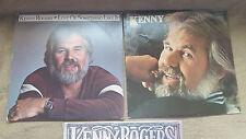 1 Lot of 4 LP Vinyl   Kenny Rogers