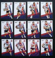 NRL 2012 SYDNEY ROOSTERS SELECT DYNASTY TRADING CARDS FULL SET 12 Cards