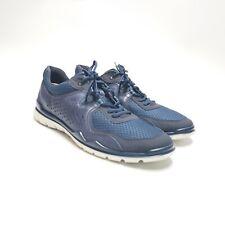 Ecco Lynx Zeal Low Cut/Lace Blue Leather Sneaker Summer Size US Size 13 EU Sz 47