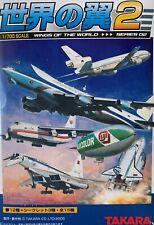 1:700 Takara Wings of the World An-124 Ruslan, Tu-144, Tu-160 Blackjack