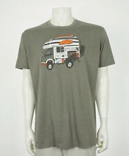 Howler Bros Brothers Taupe Brown Cotton Blend Retro Shirt Mens XL