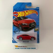 Audi RS Coupe #225 * RED * 2019 Hot Wheels Case N