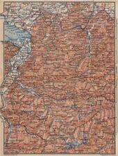VORARLBERG & BREGENZER WALD. Bludenz St Anton Zürs Lech See Ischgl 1899 map