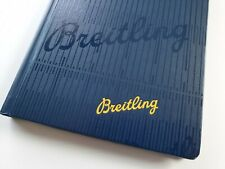 Breitling Blue Notebook