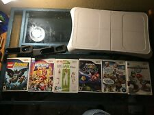 Wii Fit Balance Board, w/ Wii Fit Plus, & Other games