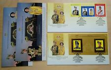2012 Malaysia Installation of YDP Agong 3v Stamps & MS on 2 FDC (KL Cachet)