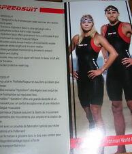 New Aqua Sphere Ironman Wet Speedsuit W/Bag - Men's Small