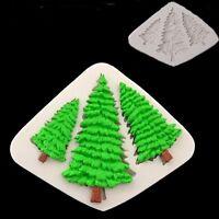 Christmas Tree Silicone Mold Fondant Cake Decorating Chocolate Baking Tool DIY