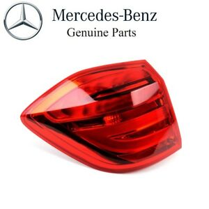For Mercedes-Benz W166 Driver Left Outer Tail Light Genuine 166 906 75 01