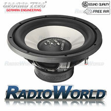 "Ground ZERO IRIDIUM GZIW 300X 12"" SUB SUBWOOFER BASS CAR AUDIO 700 W 30 cm"