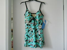 New listing A Shore Fit Thigh Solutions 1 Piece Swim Suit Blue,BLACK,WHITE, Size 18 NEW $92