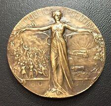 REPUBLIC ARGENTINA / 1810-1910 / SAN MARTIN / BUENOS AIRES / Bronze Medal / M81