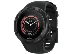 Reloj deportivo Suunto 5 ALL BLACK, GPS, puslo en la muñeca. Soporta rutas.