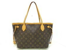 Authentic LOUIS VUITTON Monogram Neverfull PM M40155 Tote Bag TH0048