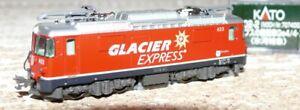 HS   Kato 3102-2 (7074053) E Lok Ge 4/4 II  Untervaz Glacier Express Spur N