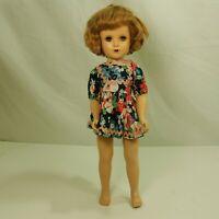 "Vintage Madame Alexander 18"" Doll Hard Plastic"