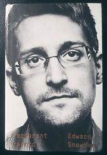 Permanent Record by Edward Snowden Social Activist Hardback First Edition