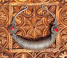 antik nomaden Afghan necklace Spiral-Halsreif Kette swat kalash Nuristan Nr-12