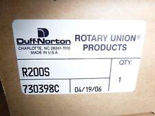 DUFF NORTON ROTARY UNION  BRONZE 730398C R200S