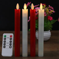 2pcs Electric LED Candles Flickering Flameless Battery Candle LightFDUS