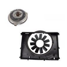 BMW 525i 528i E39 97-03 Engine Cooling Fan Shroud Blade & Clutch Kit URO / Meyle