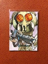 2018 Season 1 RICK & MORTY 1/1 Original Sketch Card Signed By FABIAN QUINTERO