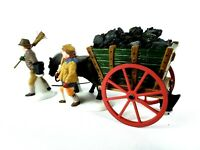 Delivering Coal For The Hearth Dept 56- Dickens Village Heritage Village #58326