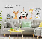 Removable Cartoon Castle Animals Wall Sticker Mural Wall Decal Home Decor Diy Sy