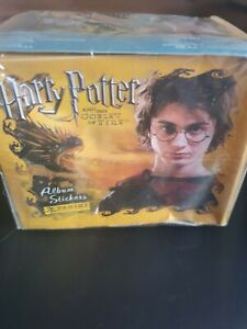 Harry Potter Sealed Panini Goblet of Fire Sticker Booster Box 50 Sealed Packs