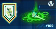LEGO ® 100% Official Nexo Power Shield GREEN AARON TIME BREACH #109 [NEW]