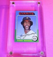 1975 Topps Mini #240 Garry Maddox Giants NmMt