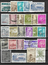 BANGLADESH STAMP COLLECTION  PACKET of 25 DIFFERENT Stamps