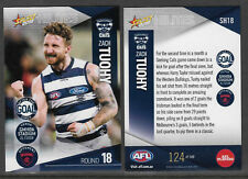 SELECT 2018 HILITES CARD ZACH TUOHY Rd 18 GEELONG CATS SH18 #124 of 149
