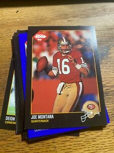 1992 COLLECTORS EDGE 11 CARD LOT ALL STARS SOME LIMITED # SEE LIST