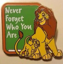 Disney GenEARation D Life Lessons Lion King Simba & Mufasa Chaser LE 250 Pin!!!