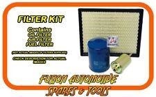 Oil Air Fuel Filter Service Kit for FORD Territory SY 2WD AWD 4.0L 10/05-04/08