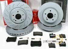 Mercedes C Klasse S203 - Zimmermann Bremsscheiben Bremsbeläge für vorne hinten*