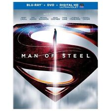 Man of Steel (Blu-ray), Excellent DVD, Antje Traue, Amy Adams, Michael Shannon,