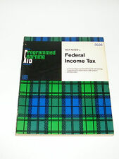 Irwin Programmed Learning Aid Self Review Federal Income Tax Wittenbach Milani